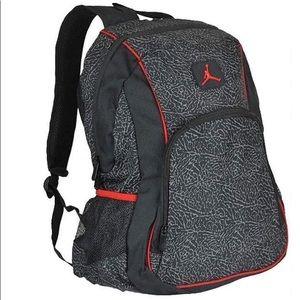 Nike Jordan Elephant 2-Strap Backpack!! Nwt!!